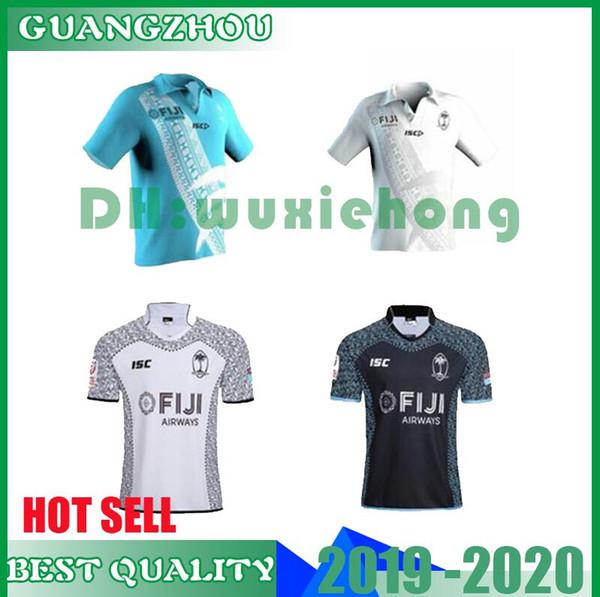 News 2019 2020 FIJI Home and away rugby Jerseys Singlet League shirt Fiji 7s 2018/19 Rugby Shirt size S-XXL