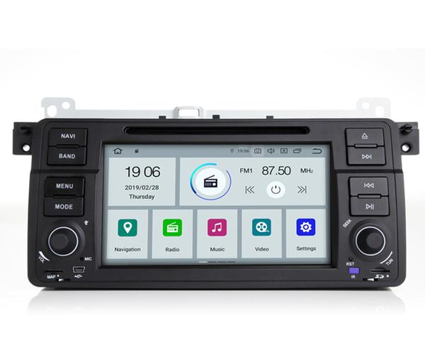COIKA Android 9.0 Sistema Unidad Principal de DVD para Coche BMW Serie 3 E46 MG ZT Rover 75 GPS Navi Estéreo WIFI Google 1080P Video SWC 2 + 16G RAM