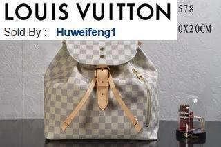 huweifeng1 opp Damier N41578 BACKPACKS FASHION SHOWS OXIDIZED LEATHER BUSINESS BAGS HANDBAGS TOTES MESSENGER BAGS
