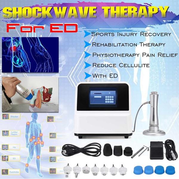 Lo nuevo dispositivo Shockwave terapia Gainswave TOCH para el tratamiento del dolor ED cuerpo de retención contra la disfunción eréctil portátil TOCH por ondas de choque de la máquina