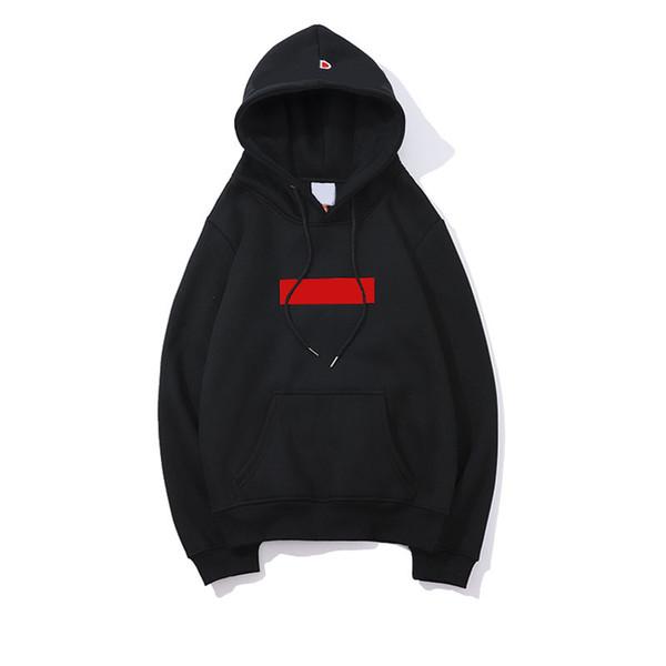 Designer mens hoodie trend new box logo champions hoodies Joint name men women pullover fashion hooded sweater Casual men Black sweatshirts