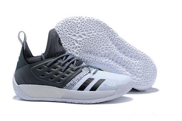 Großhandel Neueste James Harden Vol 2 Basketball Schuhe Schwarz Blau Weiß Grau Herren Harden Vol.2 Sneakers 7 11.5 Von Fengoutdoor, $61.42 Auf