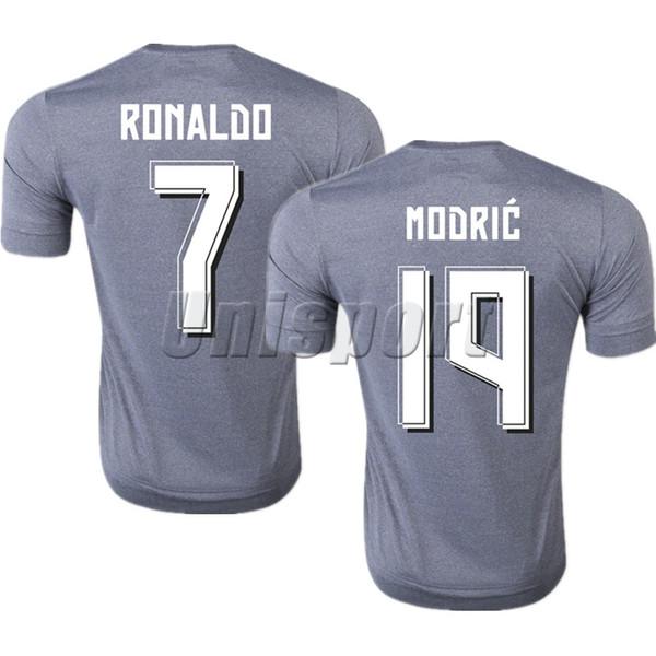 the latest 0e5e8 e2372 2019 2015/16 Real Madrid Away Soccer Jerseys Ronaldo Isco Modric Futbol  Camisa Football Camiseta Shirt Kit Maillot From Yoyosports, $16.14 | ...