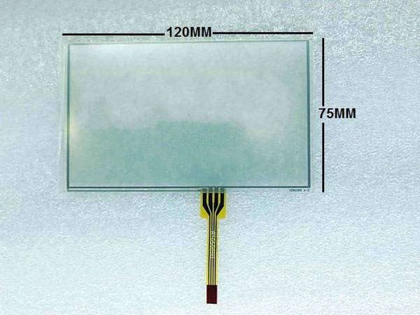 Touch screen da 5,7 pollici da 5,7 pollici 120 * 75 120 mm * Pannello touch resistivo da 75 mm