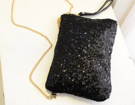 Moda Moda Feminina À Noite Saco de Festa de Festa Banquete Glitter Bag Para Senhoras Embreagens de Casamento Bolsa Bolsa de Ombro Cadeia Bolsas Mujer