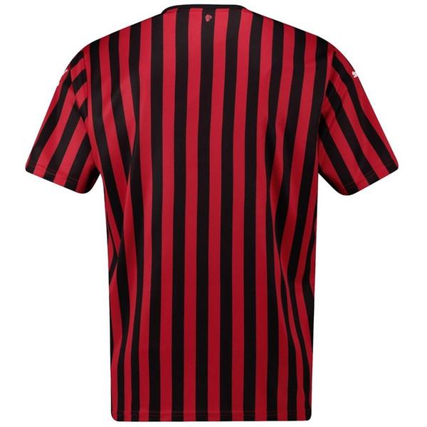 Milão Soccer Jersey 10 20 Início AC Camisetas Fardas Homens Camisetas Futbol Futebol Feminino Crianças Ac Milan Jersey xxxxl Fãs Quick Dry Personalize