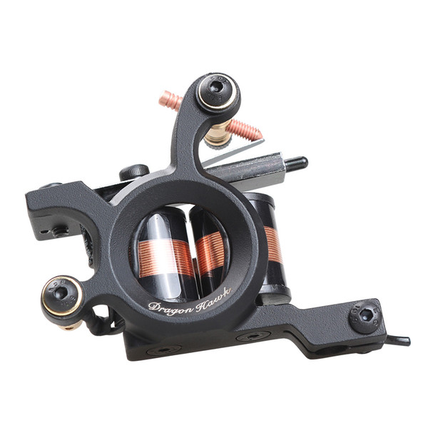 Professional Shader Tattoo Machine Tattoo Gun for Coloring 10 Wraps Coils Alloy Frame Tattoo Supply 4463