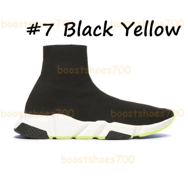 #7 Black Yellow