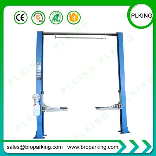 PLKING Hydraulic Automotive Two Post Car Lift with CE Certification