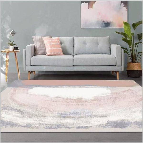Großhandel AOVOLL Ölgemälde Teppich Wohnzimmer Einfache Schlafzimmer Sofa  Teppichmatte Saugfähige Rutschfeste Badezimmermatte Küche Schlafzimmer ...