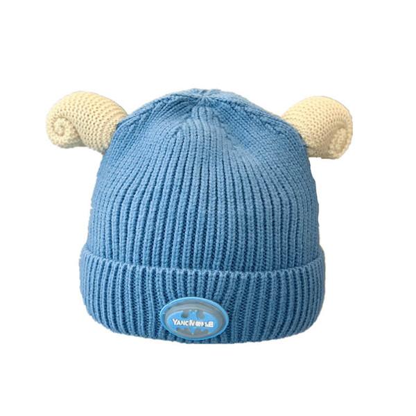 Nuovo Autunno Inverno LED cappelli del bambino fumetto cappelli bambini del bambino del progettista Cap cappelli appena nati neonato berretti bambino cappello bambino cappello ragazzi cappello A9576