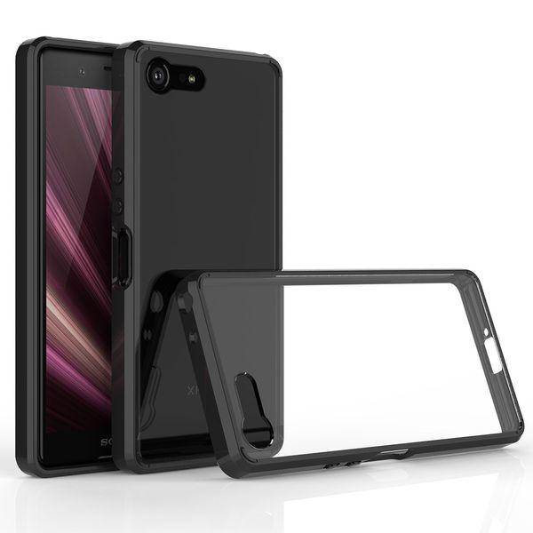 2019 heißer Verkauf Sony Xperia XZ4 kompakter Handyfall zwei in einem Anti-Fall transparente Schutzabdeckung groß