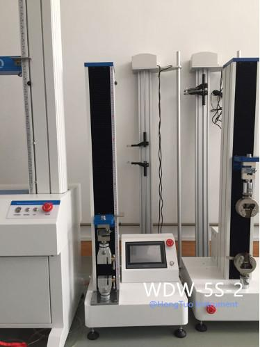 WDW-5S Professional Supplier Hot Sales Desktop Tensile Testing Machine Rubber High Accuracy Excellent Quality