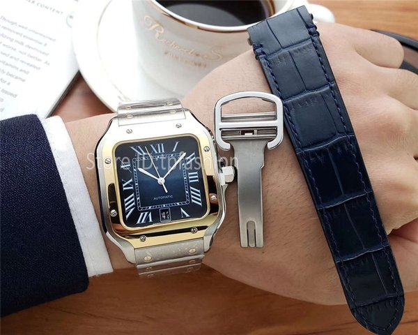 Two Tone Gold Blue
