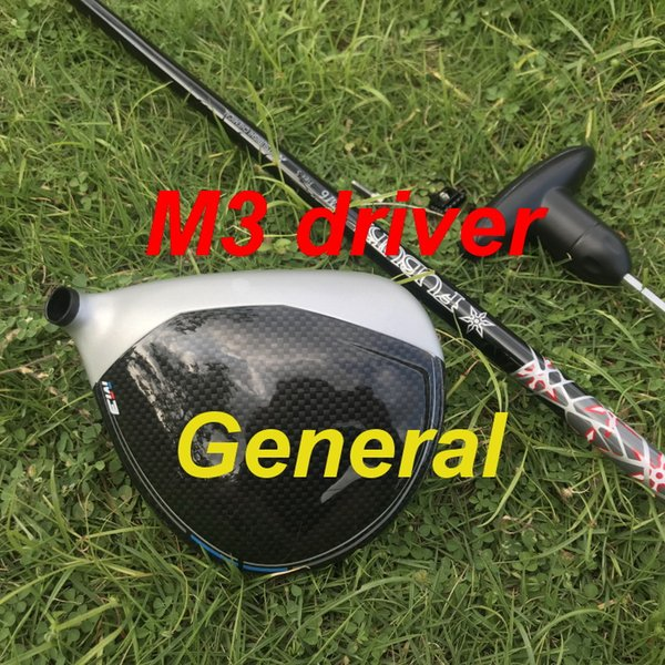 OEM quality golf driver General M3 driver 9.5 or 10.5 degree with FUBUKI graphite shaft stiff flex headcover/wrench golf clu