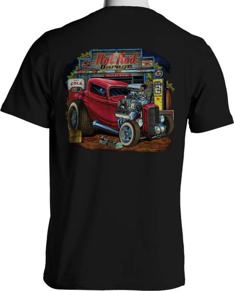 b8cf935c9 Rat Rod T Shirts Red Hot Rod Cartoon Auto Parts Blower Motor S to 6XL and  Tall 2019 fashion t shirt Fashion Style Men Tee