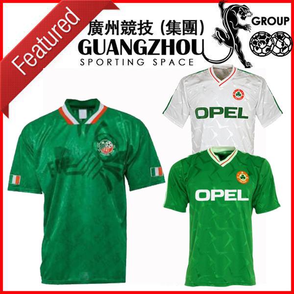 1990 1992 1994 Ireland retro soccer jersey 1994 world cup Ireland home classic vintage Irish TOWNSEND Keane STAUNTON HOUGHTON football shirt