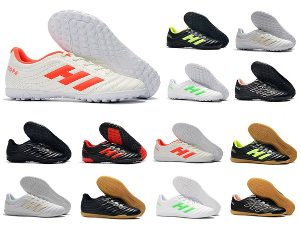 2019 New Mens Copa 19.4 TF IN GOAL INDOOR Astro Modern Craft TURF Soccer Football Shoes Boots Scarpe Calcio Cheap Cleats Size 39-45