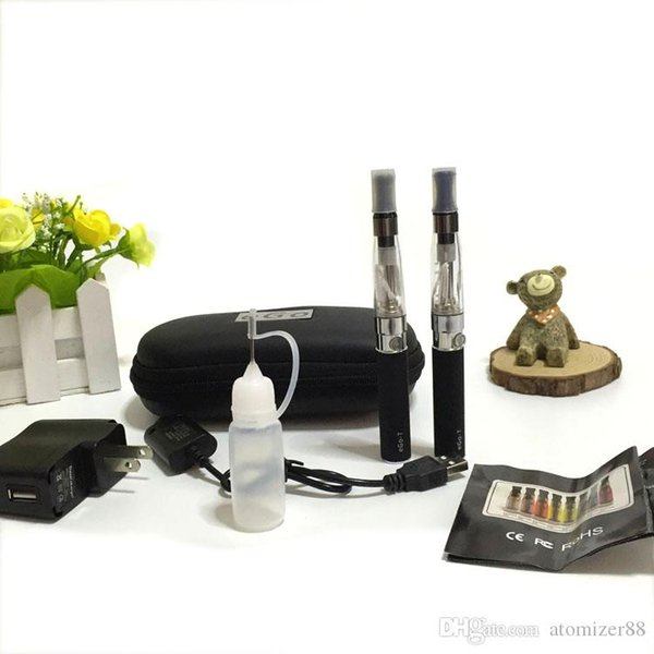 Ego t double kit Ego CE4 starter kits ecig e cig 510 battery e cigarette ce4 atomizer ego t vaporizer in stock