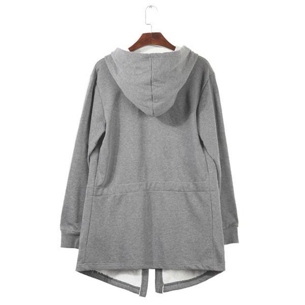 2019 Spring and Autumn Design Men's Clothing Sweatshirt Hip Hop Skull Hoodie Men's Hooded Cardigan Black Cape Coat M-3XL Wholesale