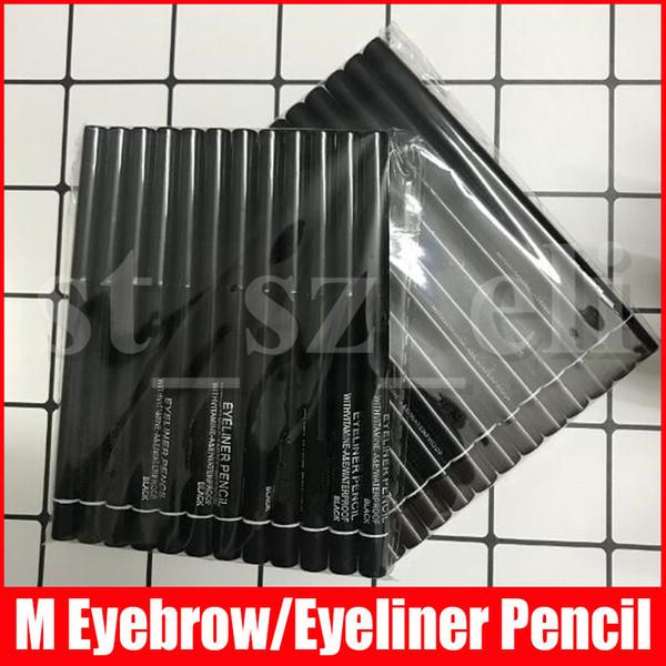 M Eye Makeup автоматическая вращающаяся бровь карандаш для глаз Карандаш водонепроницаемый водонепроницаемый красоты макияж карандаш коричневый черный 2 цвета