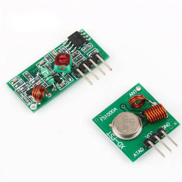 Automatisierungskit 433 MHz RF Sender und Empfänger Modul Link für ARM / MCU WL DIY 315 MHz / 433 MHz Wireless für Arduino DIY Kit