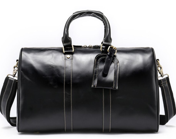 Высокое качество новых женщин Большие натуральные окисляющие Кожа дорожная сумка KEepAll леди сумка сумка кошелек ARTsy designl08