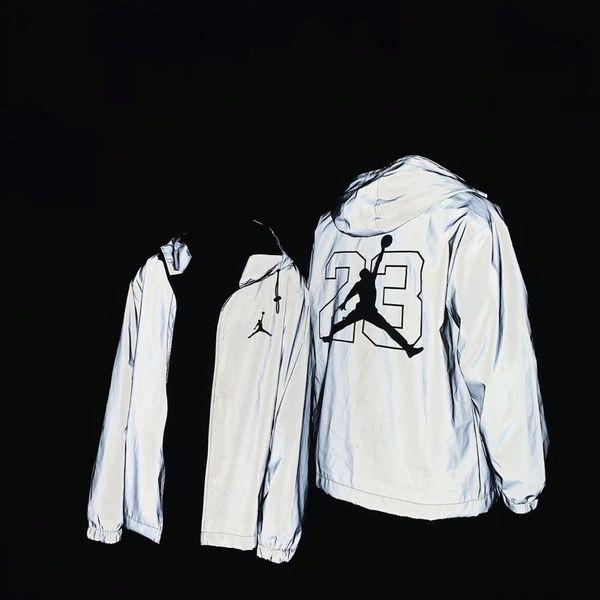 2019 impression corps européen hommes veste de sport de la rue américaines importées poitrine matériel 3m modèles réfléchissant explosion de nuit vestes sauvages