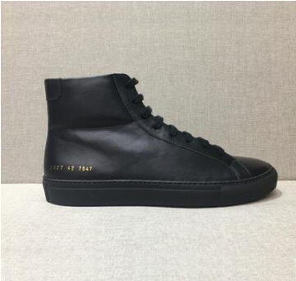 Tasarımcı ayak bileği botlar Ortak Projeler Gerçek Deri Chelse çizme kanye batı ayakkabı kadın erkek düz kış botları gündelik Moda tasarımcısı 02