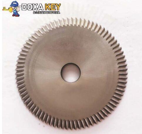 U01 angle milling cutter 60.4mm HSS key cutter for SILCA UNOCODE 399 series key cutting machines