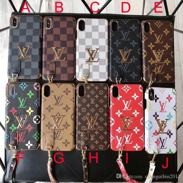 2019 new lanyard brand mobile phone case cover for iphone Xs max Xr X 7 7plus 8 8plus 6 6plus