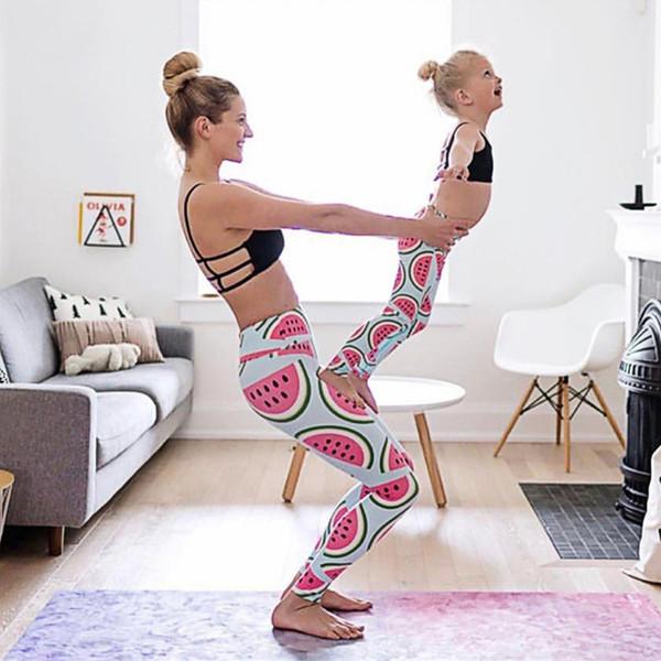best selling Watermelon Print Yoga Leggings New European And American Leggings Women Slim High Waist Lift Buttock Tight Leggings Autumn 1