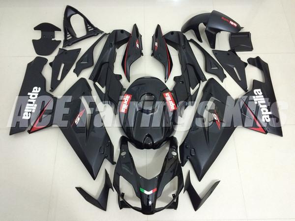 Nouveau kit de carénages pour Aprilia RS4 RSV125 RS125 07 08 09 10 11 12 RS125R RS-125 RSV 125 RS 125 2006 2007 2008 2009 2010 2011 2012 custom black