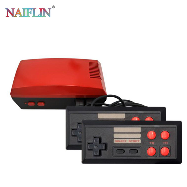 best selling New modle Mini TV Can Store 620 RED Game Console Video Handheld for NES games consoles with retail boxs hot sale free shipping