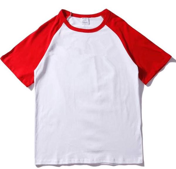 2019 New quality cotton new O-neck short sleeved T-shirt brand men's T-shirt fashion style sports ladies T-shirt8