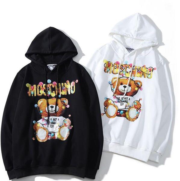 sudadera con capucha otoño moda conjunto de letras impresas hombres y mujeres amantes de la camisa de manga larga calle hip hop abrigo al por mayor S536