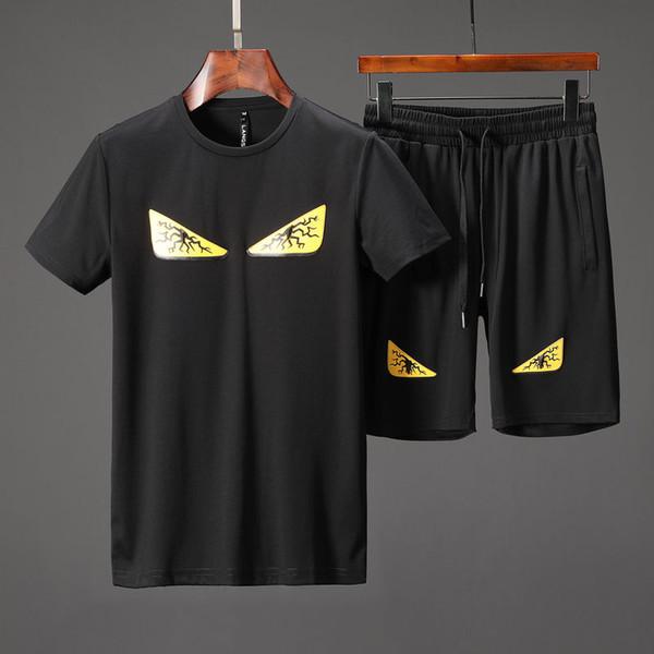 2019 nueva ropa deportiva para hombres ropa masculina de alta calidad sudadera con capucha FF sudadera casual ropa deportiva G traje deportivo
