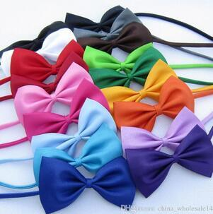 1 piece Adjustable Dog Cat bow tie neck pet bow tie puppys pet bow tie different colors supply