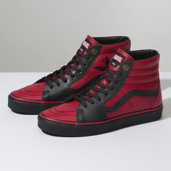 2019 Brand Shoes Men Women VANS Marvel Limited Edition Sk8 Hi Deadpool FA  Dead Pool Mens Sizes Casual Shoes Women Shoes From Johnson_jo167, $30.58|  ...