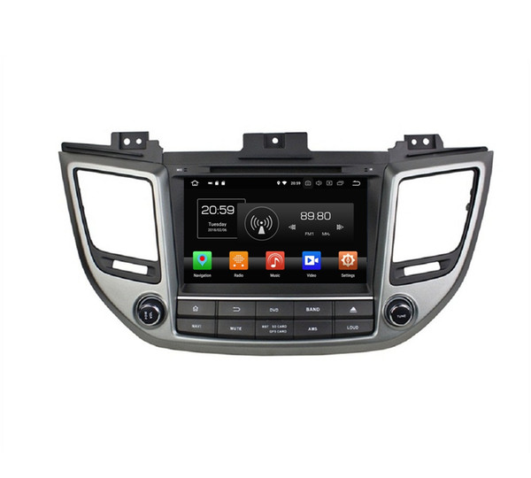 "4GB+64GB IPS 2 din 8"" Android 8.0 Octa Core Car dvd Player for Hyundai Tucson ix35 2015 2016 2017 Audio RDS Radio GPS Bluetooth WIFI USB DVR"
