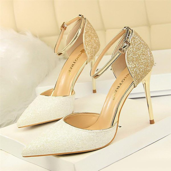 glitter heels mary jane shoes pumps women shoes zapatos fiesta mujer elegante fetish high heels stiletto wedding shoes bride high heels