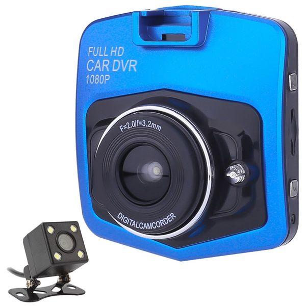 Registrator Kaydedici G-sensor Dash Cam 7801 Mini İkili Lens Araç DVR Kamera GT300 Kamera 1080p Full HD Video