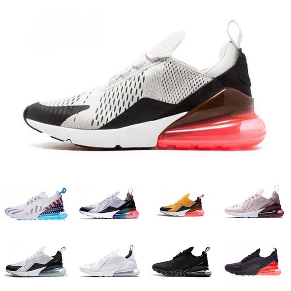 Großhandel Nike Air Max 270 27c 2019 New TN Cushion Sneakers Sport Designer Herren 27 Laufschuhe Trainer Road Star BHM Iron Damen Sneakers Größe 36 45