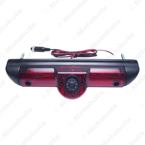 Car LED Brake Light IR Rear View Reversing/Parking Camera For Fait Ducato/Peugeot Boxer/Citroen Jumper # 5369