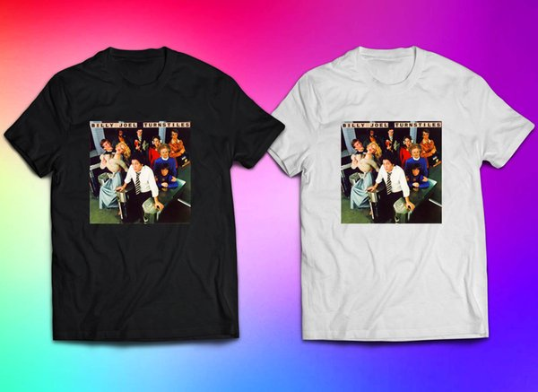 T-shirt Billy Joel Turnstiles Album per Uomo Taglia S-3XL Divertente spedizione gratuita Unisex Casual top