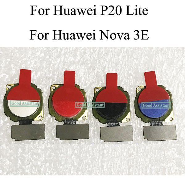 Fingerprint Scanner For Huawei P20 Lite / For Huawei Nova 3E Touch Sensor ID Home Button Return Assembly Flex Cable