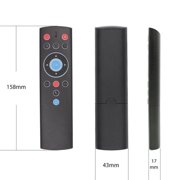 T1 Voice Remote Control 2.4G Air Mouse G10 гироскоп для Google Play Netflix Youtube Tx6 T95 макс Q плюс X88 Pro A95X F2 Tv Box