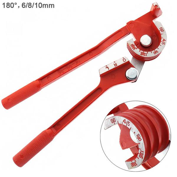 3 in 1 180 Grad 6/8 / 10mm Rohr-Rohrbiegemaschine / Kupferrohr / Klimaanlage Rohr-manuelles Winkelwerkzeug