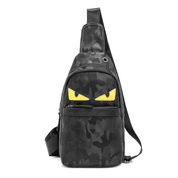 2019 новый дизайн PU грудь сумка кожа Маленький Монстр слинг сумка кошелек подарок б