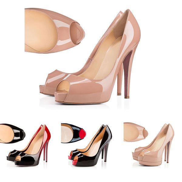 Christian Louboutin  2019 Designer Schuhe Turnschuhe So Kate Styles High Heels Rot Bottoms Heels 12CM Echtes Leder Point Toe Pumps Gummi Größe 35-42